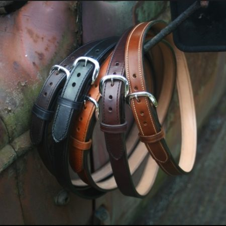 1 1/2 Inch Leather GunBelts Hand Made from Horse Hide