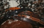 1 1/4 Inch Leather Belts Hand Made from Bull Hide