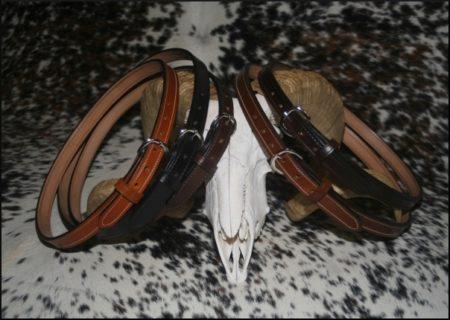 """1"""" Bull Hide Belts"""