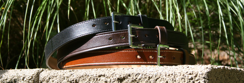 Quick Shipped Hand Crafted Leather Belts