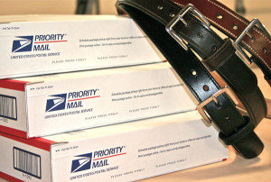 We ship Priority Mail at a flat rate of $8.95 unless otherwise specified.