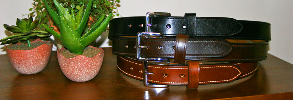 Quick Ship Leather Belts